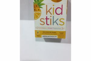 TROPICAL PUNCH KID STIKS DAILY DRINK MIX POWDER MULTIVITAMIN & MINERAL SUPPLEMENT