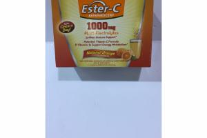 ESTER-C EFFERVESCENT 1000MG PLUS ELECTROLYTES DIETARY SUPPLEMENT PACKETS