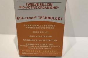 PROBIOTIC CD DIGESTIVE HEALTH DIETARY SUPPLEMENT VEGETARIAN TABLETS