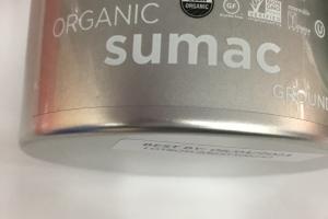 Organic Sumac Ground