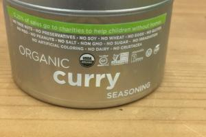 Organic Curry Seasoning