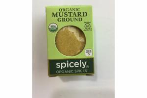 ORGANIC MUSTARD GROUND SPICES