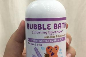 Bubble Bath Calming Lavender For Ages 1 & Up