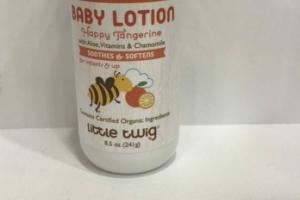SOOTHES 7 SOFTENS WITH ALOE, VITAMINS & CHAMOMILE BABY LOTION
