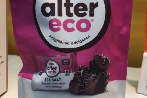 Sea Salt Deep Dark Organic Chocolate