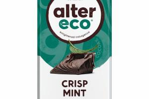 DARK CRISP MINT ORGANIC CHOCOLATE