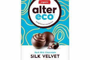 DARK MILK CHOCOLATE SILK VELVET TRUFFLES