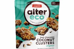 ORIGINAL COCONUT CLUSTERS DARK CHOCOLATE