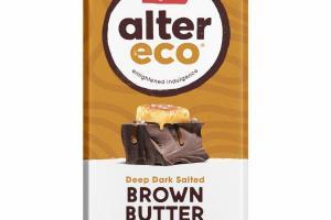 DEEP DARK SALTED BROWN BUTTER ORGANIC CHOCOLATE