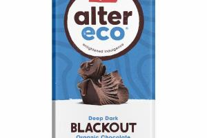 DEEP DARK BLACKOUT ORGANIC CHOCOLATE