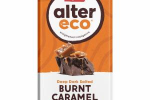 DEEP DARK SALTED BURNT CARAMEL ORGANIC CHOCOLATE