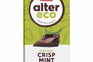 DEEP DARK CRISP MINT ORGANIC CHOCOLATE