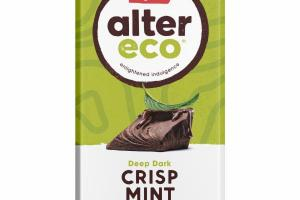 DEEP DARK CRISP MINT ORGANIC CHOCOLATE