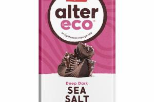 SEA SALT DEEP DARK ORGANIC CHOCOLATE