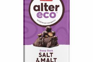 SALT & MALT DEEP DARK ORGANIC CHOCOLATE