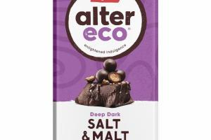 SALT & MALT DEEP DARK ORGANIC CHOCOLATE