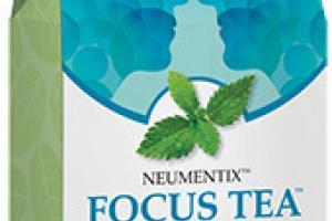 Focus Tea Herbal Supplement