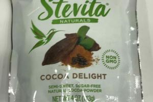COCOA DELIGHT SEMI-SWEET, SUGAR-FREE NATURAL COCOA POWDER