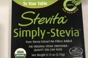 PURE STEVIA EXTRACT-NO FILLERS ADDED PACKETS