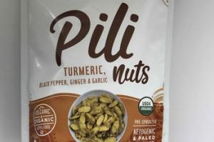TURMERIC, BLACK PEPPER, GINGER & GARLIC PILI NUTS