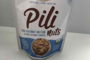 PILI NUTS THAI COCONUT NECTAR & THAI COCONUT SHREDS