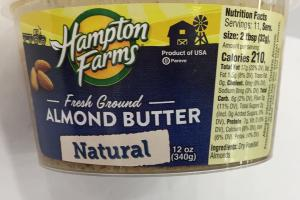 Natural Fresh Ground Almond Butter