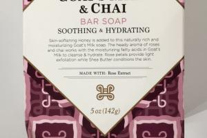 Goat's Milk & Chai Bar Soap
