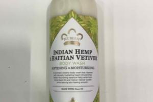 INDIAN HEMP & HAITIAN VETIVER BODY WASH