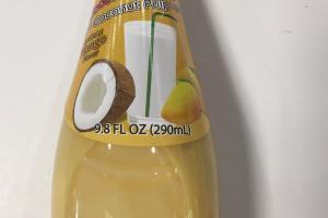 Coconut Milk And Coconut Pulp Drink