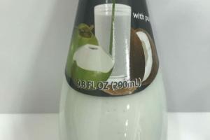 COCONUT WITH PULP MILK DRINK