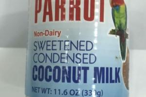 NON-DAIRY SWEETENED CONDENSED COCONUT MILK