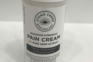 MAXIMUM STRENGTH PAIN CREAM WITH PURE HEMP EXTRACT
