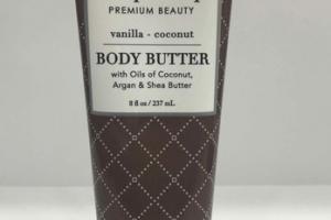 PREMIUM BEAUTY BODY BUTTER, VANILLA - COCONUT