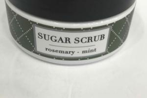 SUGAR SCRUB, ROSEMARY - MINT