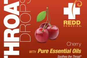 Throat Drops With Pure Essential Oils Dietary Supplement