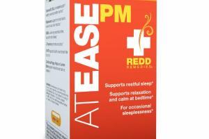 AT EASE PM VEGETARIAN CAPSULES DIETARY SUPPLEMENT