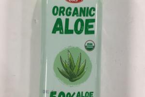 Organic Aloe Vera Beverage