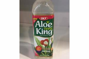 NATURAL PURE PREMIUM LYCHEE FLAVORED ALOE DRINK