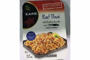 PAD THAI WITH THAI RICE NOODLES