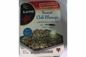 SWEET CHILI MANGO WITH NORI SEAWEED NOODLES