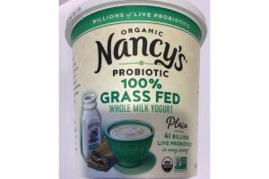 ORGANIC PLAIN 100% GRASS FED WHOLE MILK YOGURT