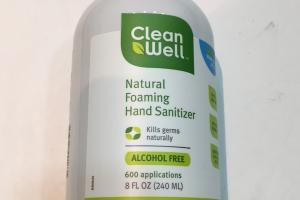 Natural Foaming Hand Sanitizer, Original