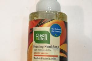 Foaming Hand Soap, Orange Vanilla