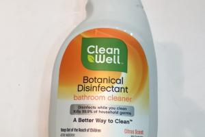 Botanical Disinfectant Bathroom Cleaner