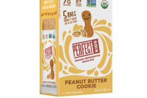 PEANUT BUTTER COOKIE ORGANIC REFRIGERATED SNACK BAR