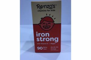 ORANGE IRON STRONG WITH VITAMIN C DIETARY SUPPLEMENT MELTY TABS