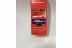 ELDERBERRY WITH WATERMELON SEEDBUTTER IMMUNITY MANUKA HONEY PLUS