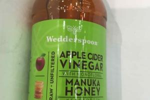 APPLE CIDER VINEGAR  WITH MONOFLORAL MANUKA HONEY