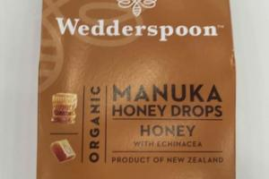 ORGANIC MANUKA HONEY DROPS WITH ECHINACEA
