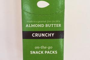 Almond Butter Snack Packs